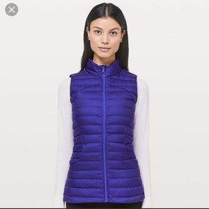 NWT Lululemon Pack It Down Again Vest - Size 4